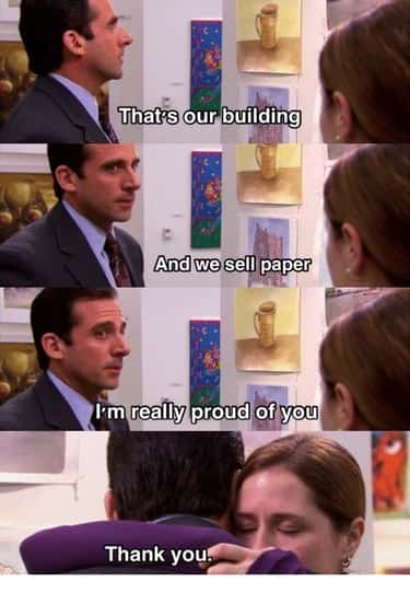 He Shows Up To Pam's Art Show is listed (or ranked) 1 on the list 12 Small But Poignant Moments From 'The Office' That Prove Michael Scott Is The Best Character In TV