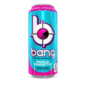Radical Skadattle is listed (or ranked) 5 on the list The Best Bang Energy Drink Flavors, Ranked By Taste