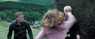 In The Scene Where Hermione Punches Malfoy, The Script Called For Her To Only Slap Him