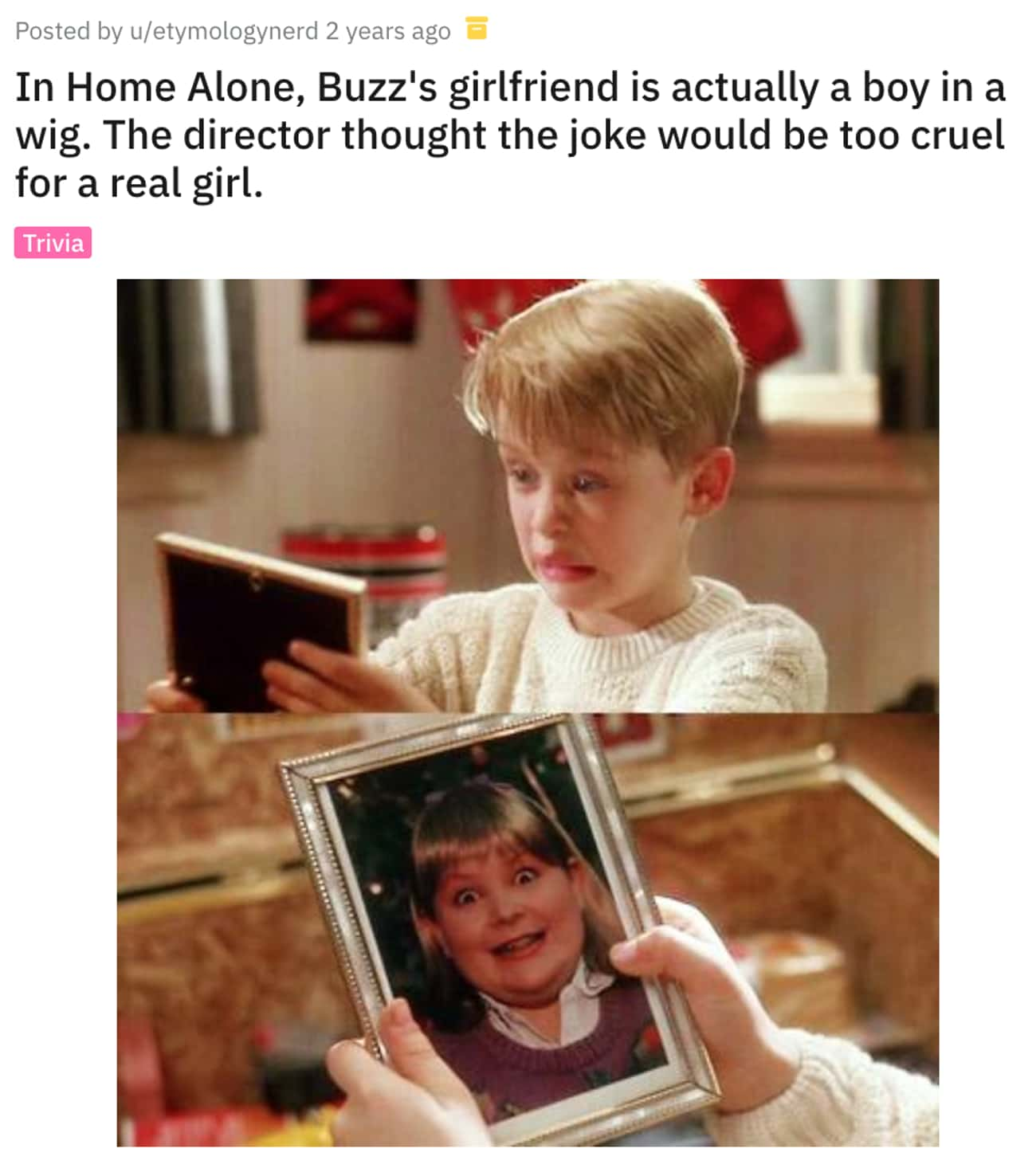 The Director Thought The Joke  is listed (or ranked) 1 on the list 12 Awesome Movie Details In 'Home Alone' Fans Are Noticing About The Classic