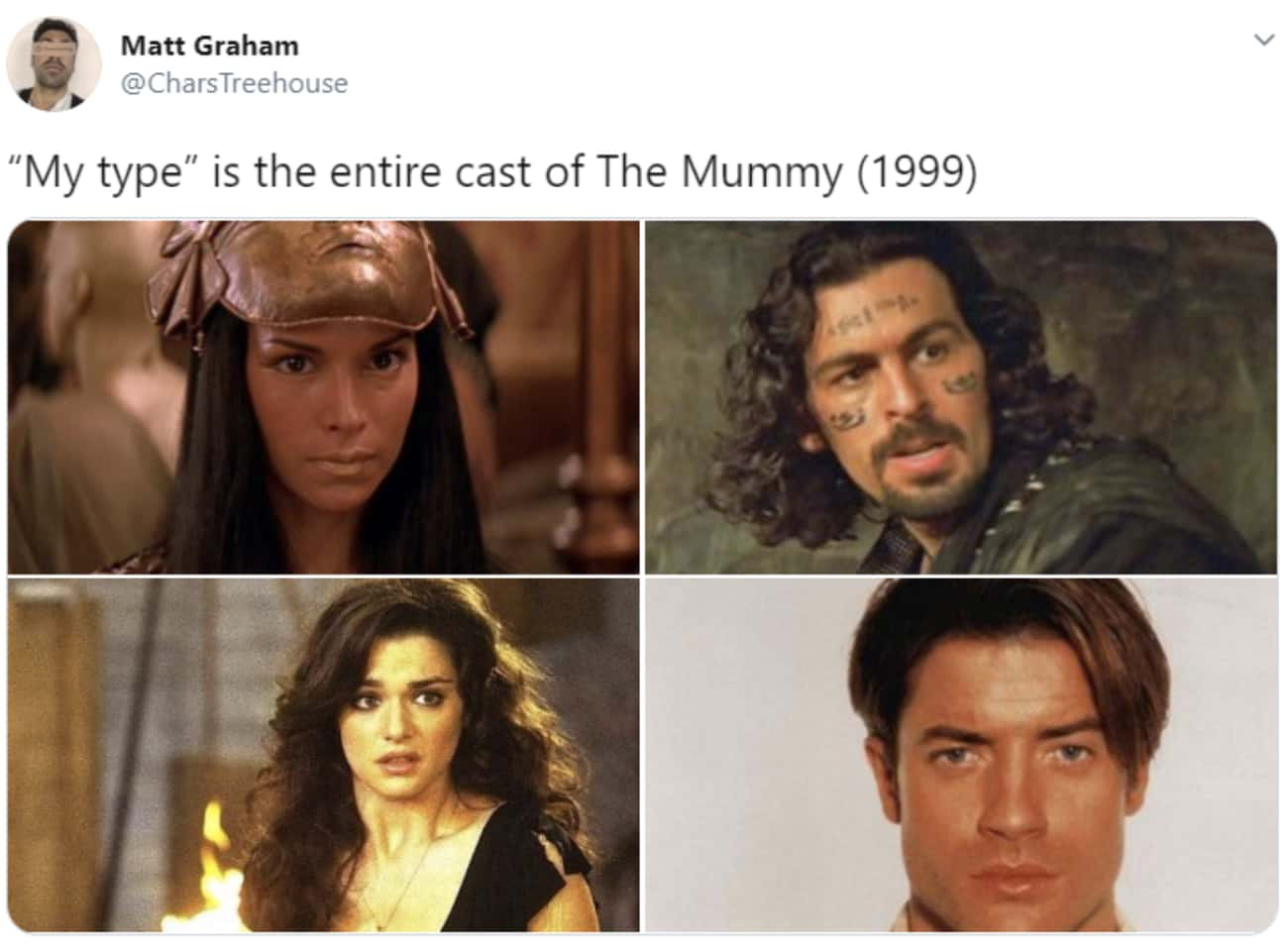 Accurate is listed (or ranked) 2 on the list 23 Memes From 'The Mummy' That Had Us Screaming 'Imhotep!'