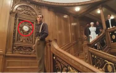 In The Final Scene, The Clock  is listed (or ranked) 2 on the list 20 Small But Poignant Details From 'Titanic' That Make Us Never Want To Let Go