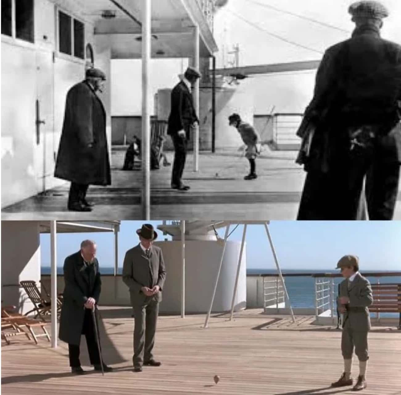 The Scene Where Jack Passes By is listed (or ranked) 2 on the list 20 Small But Poignant Details From 'Titanic' That Make Us Never Want To Let Go