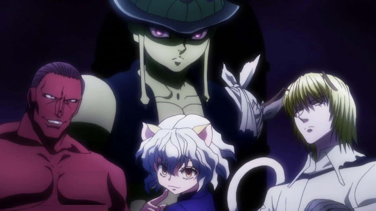 Meruem & The Royal Guards - 'H is listed (or ranked) 4 on the list The 15 Most Feared Anime Characters of All Time, Ranked