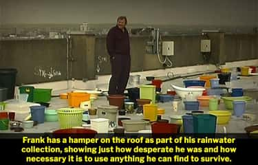 Frank Is Using A Hamper To Col is listed (or ranked) 2 on the list 14 Small But Fascinating Details Fans Noticed In '28 Days Later'