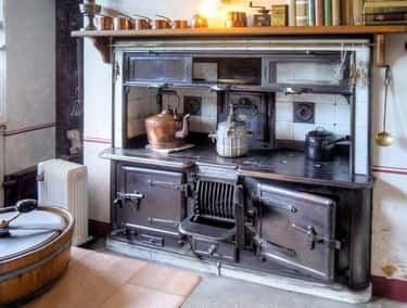 Victorian Cooking Range is listed (or ranked) 1 on the list Lavish Kitchens Throughout History That Made Us Say 'Whoa'