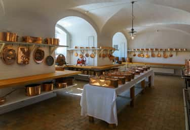 Royal Palace Ancient Kitchen is listed (or ranked) 2 on the list Lavish Kitchens Throughout History That Made Us Say 'Whoa'