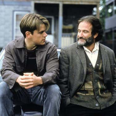 Robin Williams Ad-Libbed The Scene About His Wife Passing Gas - And Damon's Reaction Is Real