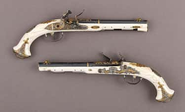 Flintlock Pistols Of Russian E is listed (or ranked) 1 on the list Historical Weapons That Were Actually Pieces Of Art