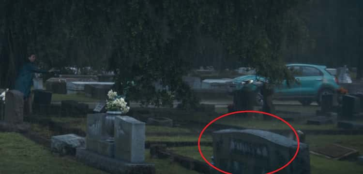"""Logan attends a funeral at Greenwood Cemetery, a gravestone with the name """"Rogers"""" can be briefly seen. Captain America was buried at the very same cemetery in the Ultimate continuity."""