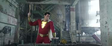 Shazam tests his powers at an  is listed (or ranked) 2 on the list 14 Small, But Clever Details From 'Shazam!' That Fans Noticed