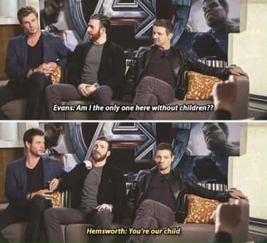 Welcome To The Family Son is listed (or ranked) 2 on the list Chris Hemsworth Interviews That Prove He's Officially Hollywood's Funniest Chris