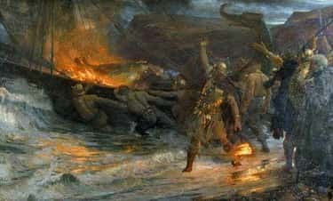 Burning Funeral Boats On The O is listed (or ranked) 1 on the list 15 Things You Might Not Know About Vikings