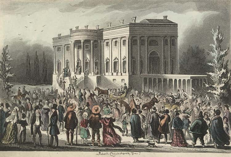In The 19th Century, Members Of The Public Could Just Wander Into The White House And Meet The President