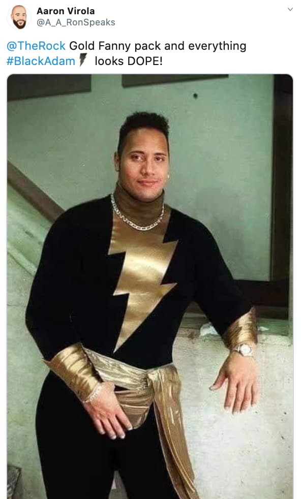 Reaction To The Rock As 'Black Adam' on Random Fans React To All Of Super Big Superhero News Announced From DC FanDome