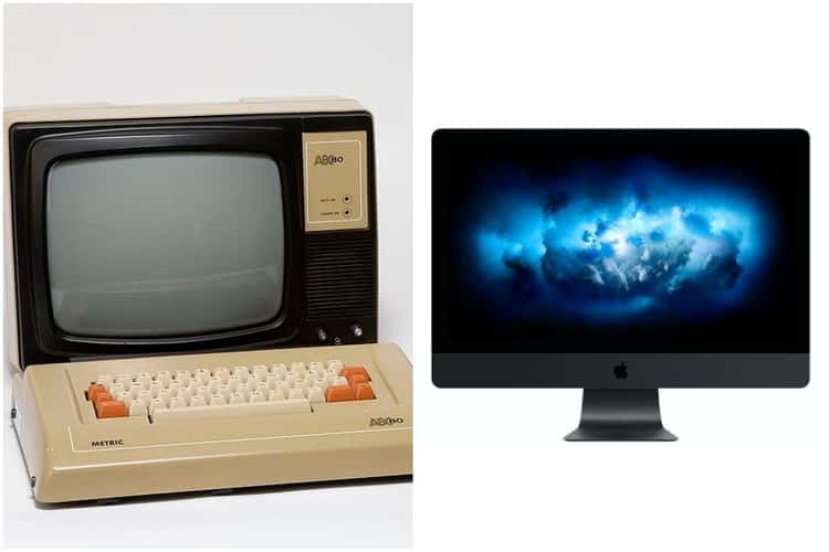 Desktop Computer - 1975 Vs. 2020