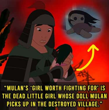 The Figurative Meaning Turns L is listed (or ranked) 1 on the list 20 Weird 'Mulan' Thoughts That Actually Make A Good Point