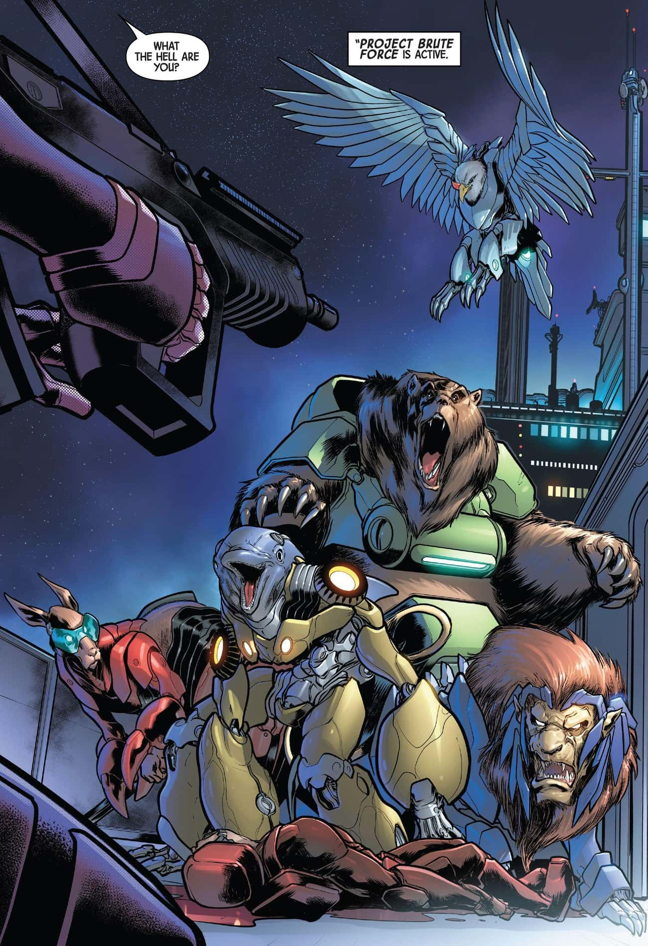 Weapon II: Brute Force is listed (or ranked) 2 on the list The Same Weapon X Program That Created Wolverine Also Made Captain America, Luke Cage, And More