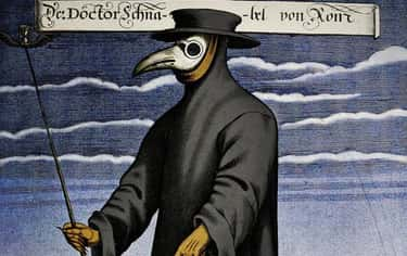 Old-School Plague Doctor is listed (or ranked) 1 on the list The Most Creative And Topical Halloween Costumes For 2020