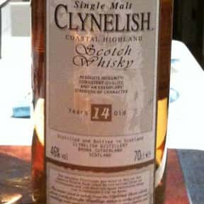 Clynelish is listed (or ranked) 24 on the list The Best Scotch Brands