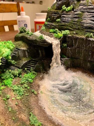 This Waterfall Is Toilet Paper is listed (or ranked) 2 on the list 20 Clever Dungeons and Dragons DIYs To Enhance Your Game Experience