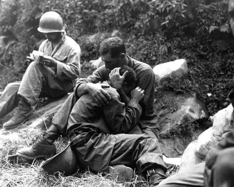 Soldiers In The Korean War (August 28, 1950)