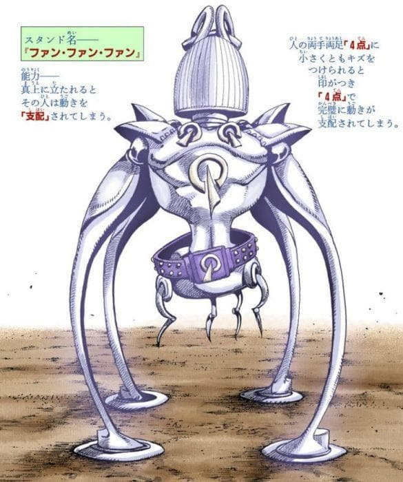 Random Complicated Stand Abilities That Are Hard To Understand From Jojo's