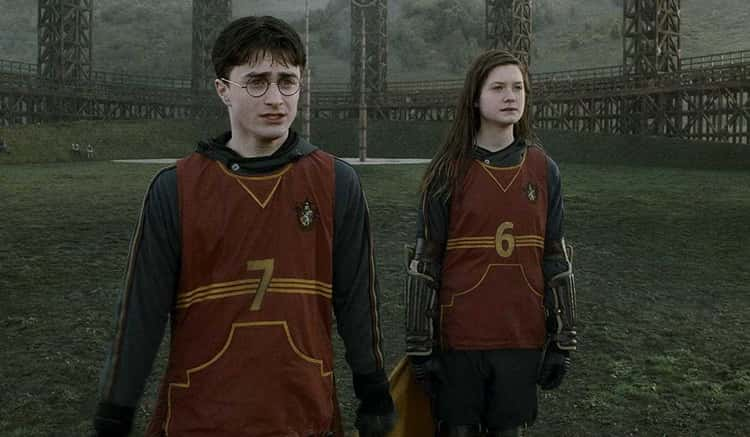 Ginny's Quidditch Barrel Roll Took The Visual Effects Team Six Months To Create