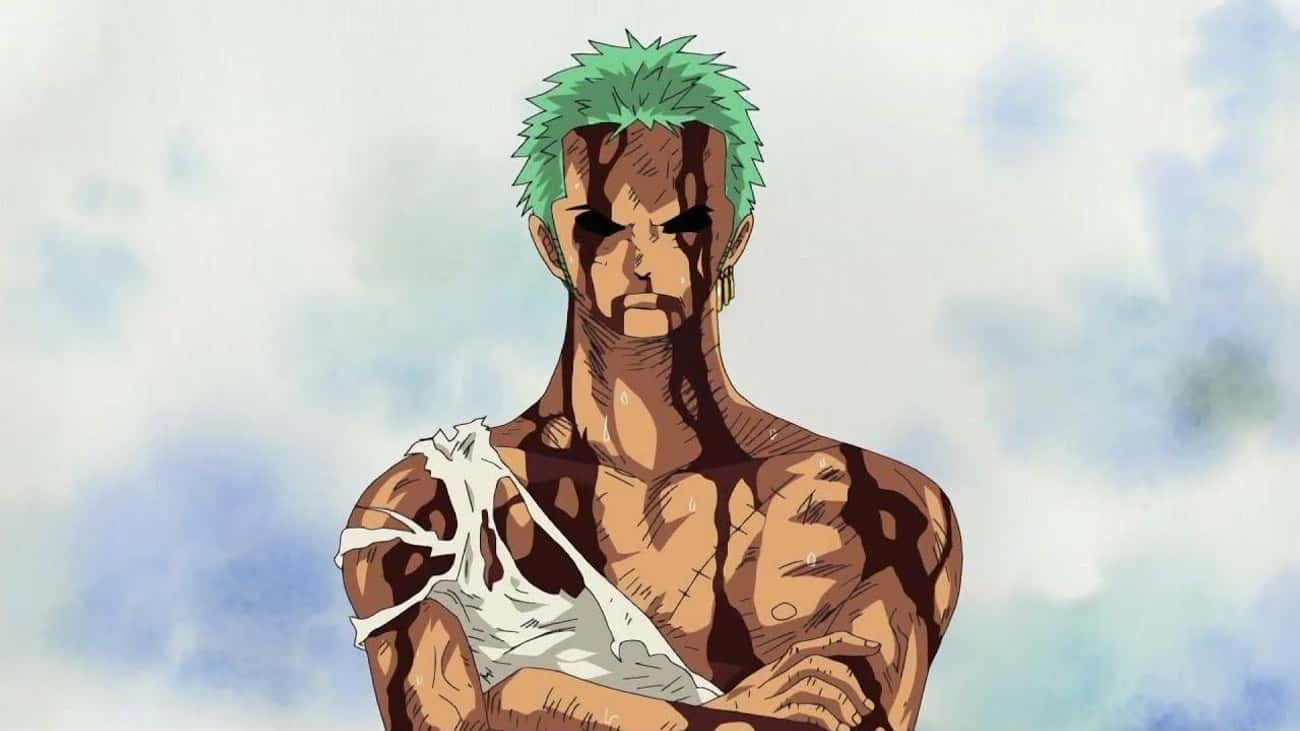 Zoro Takes All Of Luffy's Pain is listed (or ranked) 1 on the list 18 Extremely Heroic Anime Moments That Deserve Recognition