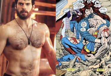 Henry Cavill was asked to shav is listed (or ranked) 1 on the list 15 Subtle Details You May Have Missed From 'Man Of Steel'