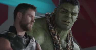 After Thor and Hulk argue, whe is listed (or ranked) 1 on the list 19 Small But Meaningful Details From 'Thor: Ragnarok'