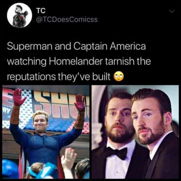 All That Work Down The Drain is listed (or ranked) 2 on the list 19 Funny Memes About Homelander, The Superhero From 'The Boys' That We Love To Hate