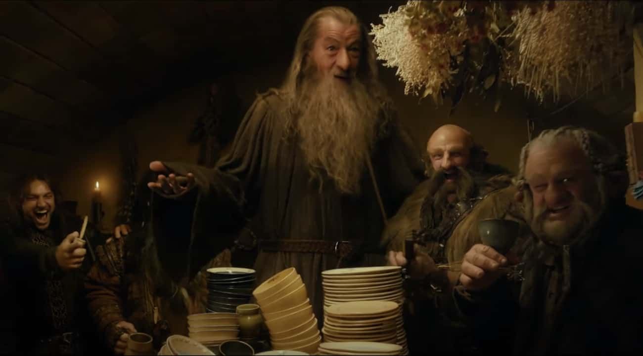 Because The Films Were In 3D,  is listed (or ranked) 2 on the list Behind The Scenes Of 'The Hobbit' Trilogy