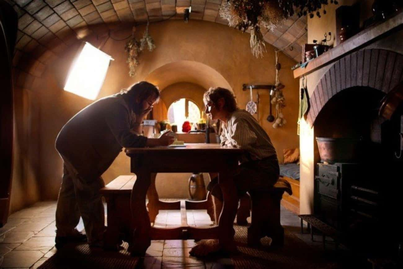 Hobbiton Was Rebuilt In The Sa is listed (or ranked) 4 on the list Behind The Scenes Of 'The Hobbit' Trilogy