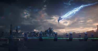 Immigrant Song Entrance is listed (or ranked) 1 on the list Thor Flexes Only The God Of Thunder Could Pull Off
