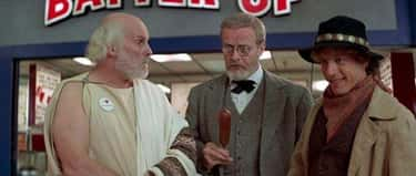 Sigmund Freud Is Holding A Cor is listed (or ranked) 1 on the list Small But Accurate Details In 'Bill & Ted's Excellent Adventure'