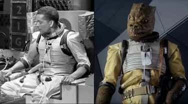 Bossk's costume was actually a is listed (or ranked) 2 on the list 20 Subtle Details You Likely Missed When Watching 'Star Wars Episode V: The Empire Strikes Back'