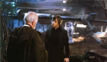 This scene is the ONLY instance of Luke addressing his mentor as 'Obi-Wan,' rather than Ben Kenobi. When confronting Ben about lying about his father's death, Luke levels the accusation at the stranger he never knew, rather than the gentle old man he admired.
