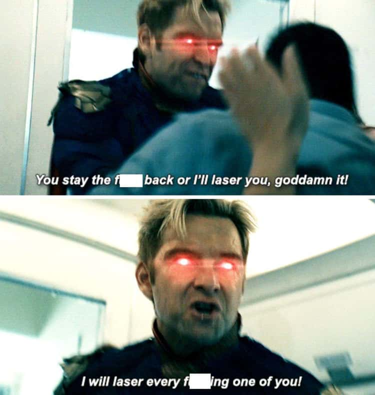 When He Threatened To Laser Everyone On That Plane