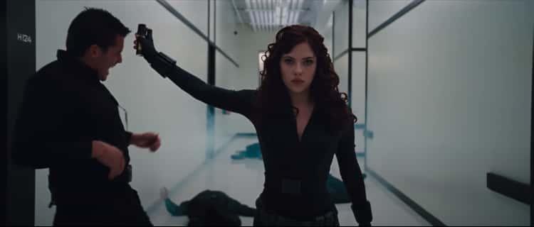 Her Hallway Fight In 'Iron Man 2'