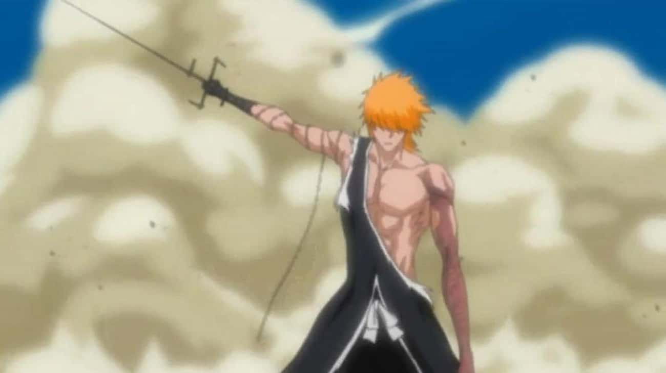 Zangetsu -?Ichigo Kurosaki is listed (or ranked) 4 on the list The 22 Greatest Zanpakutō in Bleach History, Ranked