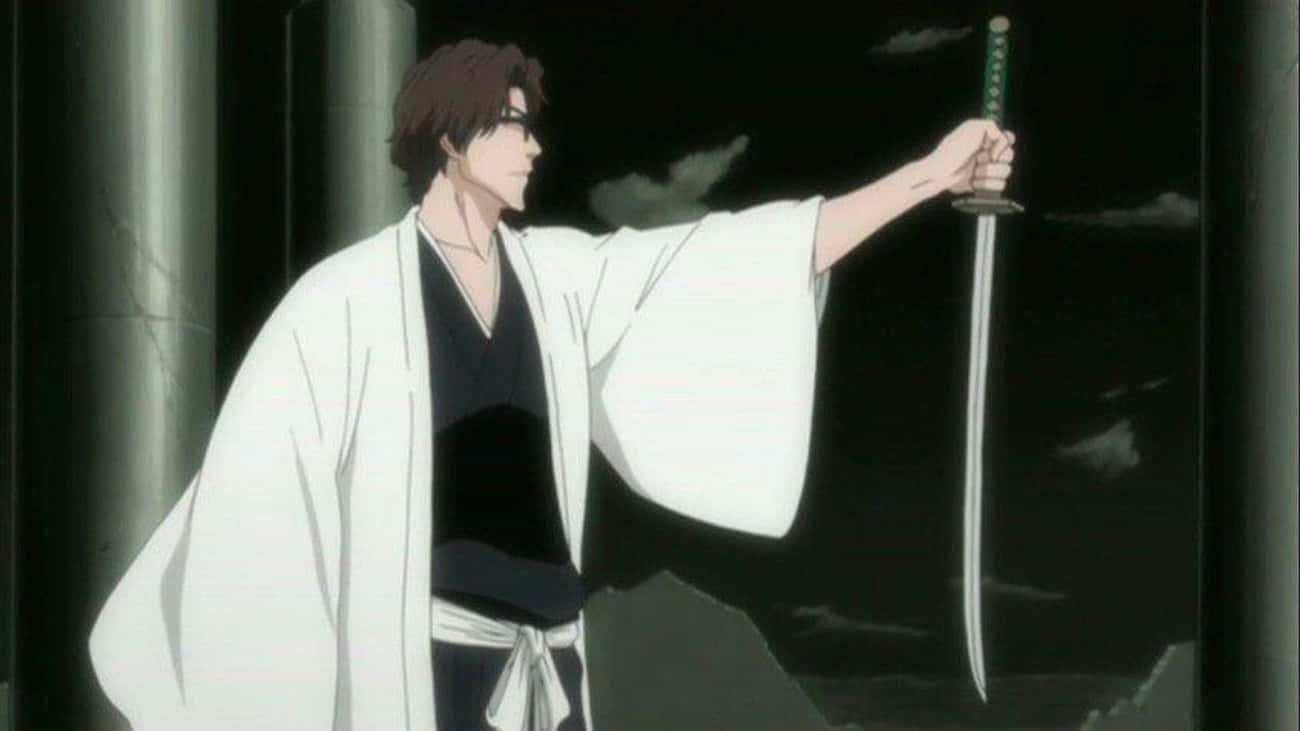 Kyōka Suigetsu -?Sōsuke Aizen is listed (or ranked) 3 on the list The 22 Greatest Zanpakutō in Bleach History, Ranked