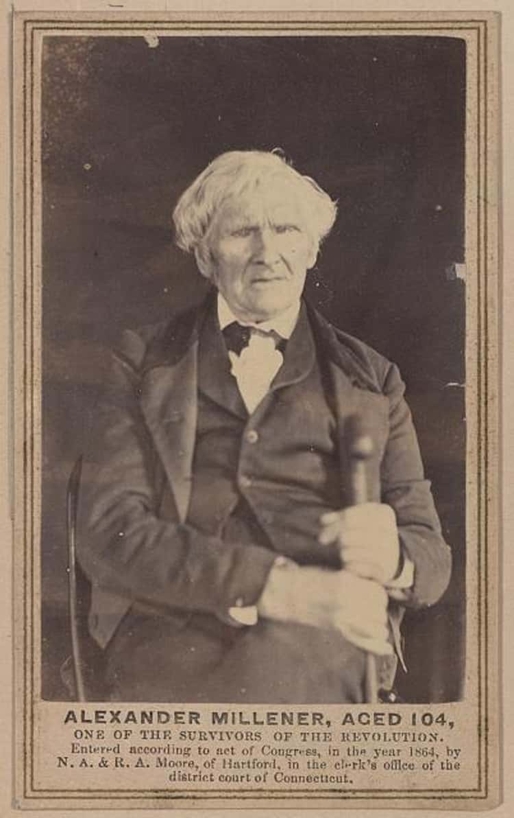 Revolutionary War Soldier, 1864