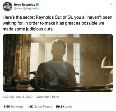 He Released A Reynolds Cut On  is listed (or ranked) 2 on the list Ryan Reynolds Can't Stop Bashing 'Green Lantern'