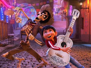The Skull On Ernesto De La Cru is listed (or ranked) 2 on the list Small But Meaningful Details In 'Coco' That Prove It's Time For A Rewatch