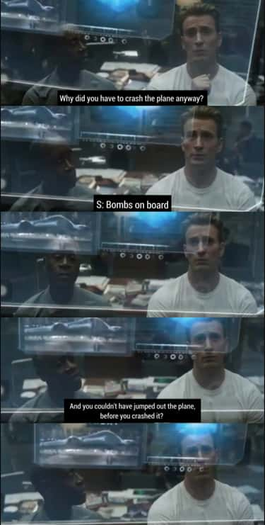 Rhodey Asks Steve Why He Had T is listed (or ranked) 2 on the list 25 Deleted Scenes From All The Avengers Movies That Shouldn't Have Gotten The Snap