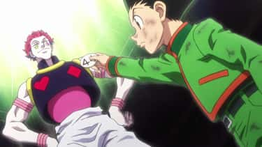 Gon Freecss & Hisoka Morow - ' is listed (or ranked) 2 on the list The 13 Most Compelling Hero-Villain Dynamics In Anime