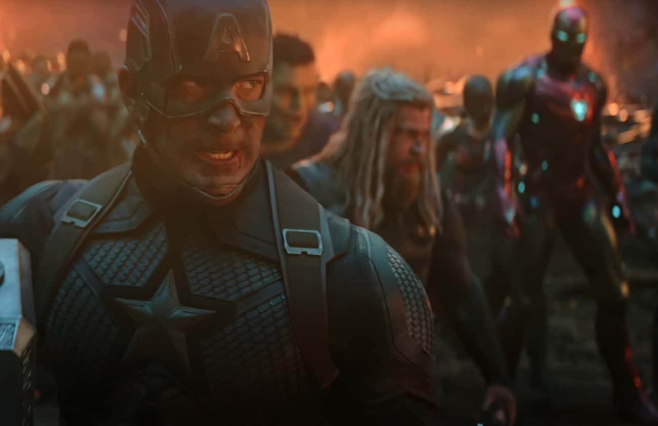 Captain America Saying 'Avengers Assemble'
