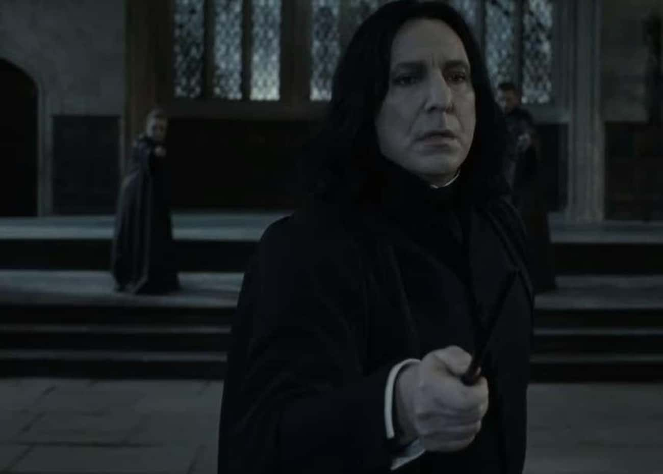Snape Shows His True Colors In A Duel With McGonagall
