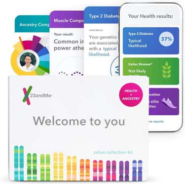 23andMe Personal Genetic DNA Test
